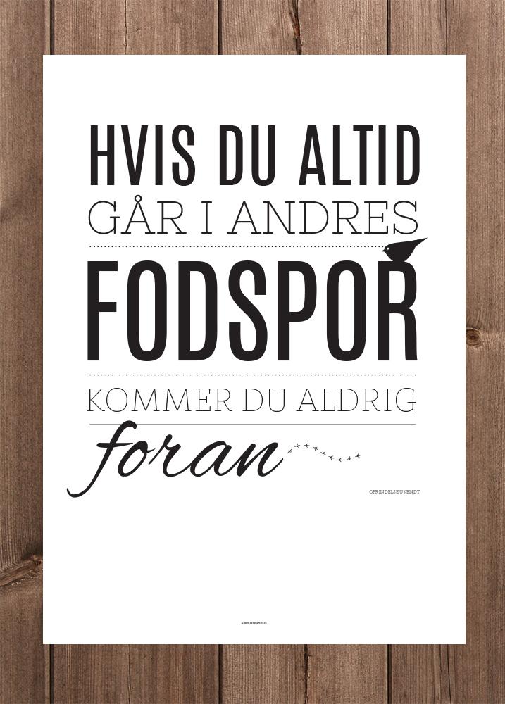 Plakat_OnWood_Fodspor